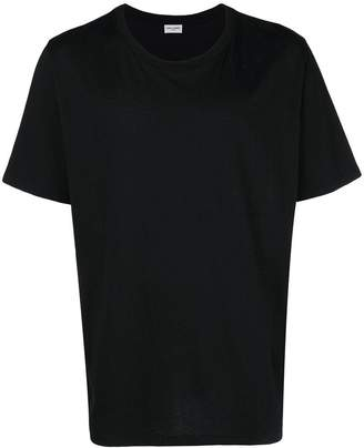 Saint Laurent signature-print T-shirt