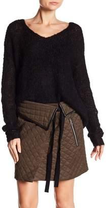 Rag & Bone Freda Knit V-Neck Sweater