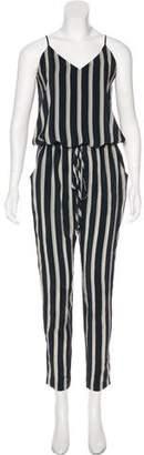 Mason Striped Mid-Rise Jumpsuit