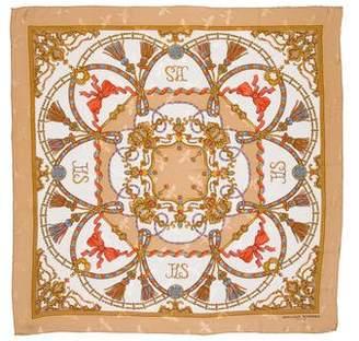 Jean Louis Scherrer Jean-Louis Scherrer Printed Silk Scarf