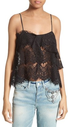 Women's The Kooples Lace Camisole $195 thestylecure.com
