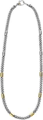 Lagos Caviar Rope Collar Necklace