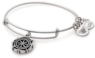 Alex and Ani Take the Wheel Life Preserver Charm Expandable Wire Bracelet