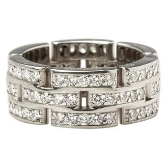 Cartier Maillon Panthère white gold ring