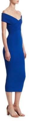 Cecile Off-The-Shoulder Midi Dress