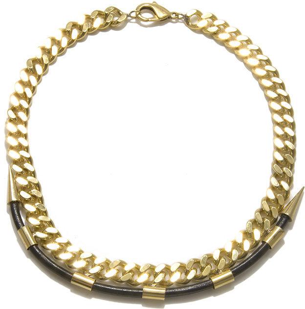 Fallon Labyrinth Maze Short Chain Necklace