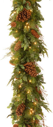 Co National Tree Decorative Juniper Mix Pine Garland