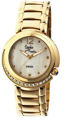 Freda Lisbon White Dial Ladies Watch