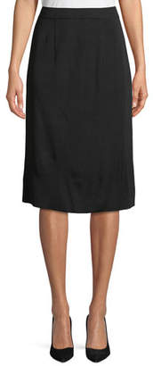 Misook Straight Pull-On Skirt, Plus Size
