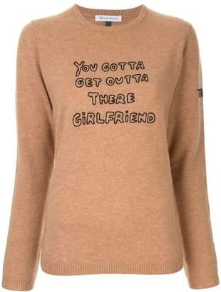 Bella Freud Girlfriend knit sweater