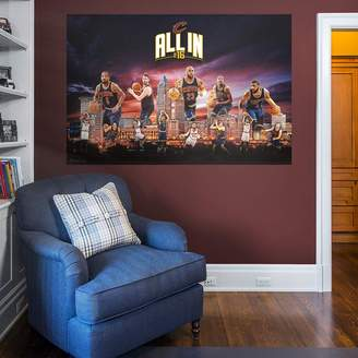 Fathead Cleveland Cavaliers Montage Mural Wall Decal