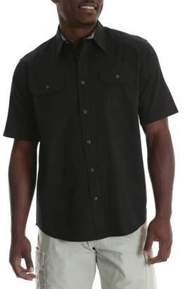 Wrangler Big Men's Short Sleeve Woven Shirt