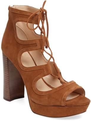 Vince Camuto Women's Kamaye Suede Platform Sandal