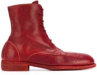 Guidi lace up ankle boots