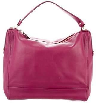 Salvatore Ferragamo Large Leather Shoulder Bag