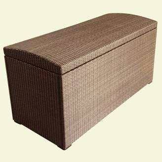 Sunjoy Wicker Outdoor Storage Box