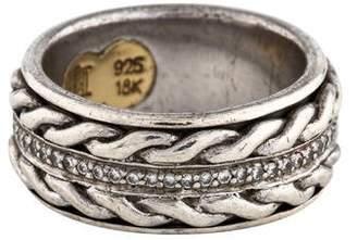 John Hardy Diamond Eternity Spinning Ring