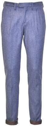ITALIAN FAMILY - Elvis Cotton Flannel Double Face Pants