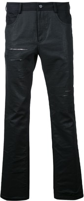 General Idea distressed slim-fit jeans