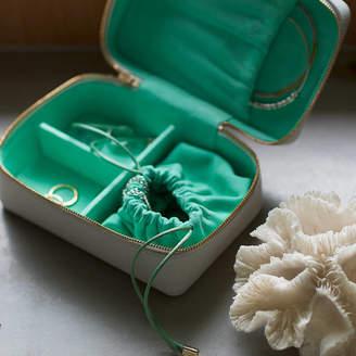 Keepsake Stow Personalised Luxury Soft Leather Jewellery Case