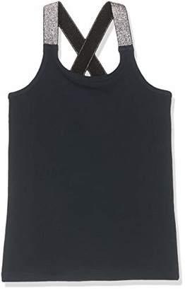 Name It NOS Girl's Nkfvals XSL Racer Tank Top Noos Vest, Blue Dark Sapphire, (Size: -164)