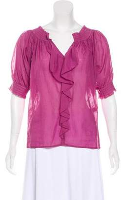Diane von Furstenberg Short Sleeve Top