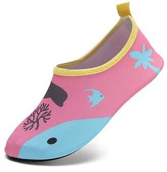 Pool' SUADEX Unisex Kids Water Shoes Boys Barefoot Aqua Socks Girls Skin Shoes for Dive Surf Swim Beach Pool Yoga