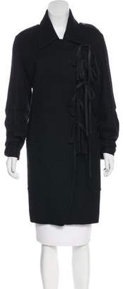 Ann Demeulemeester Knee-Length Wool Coat
