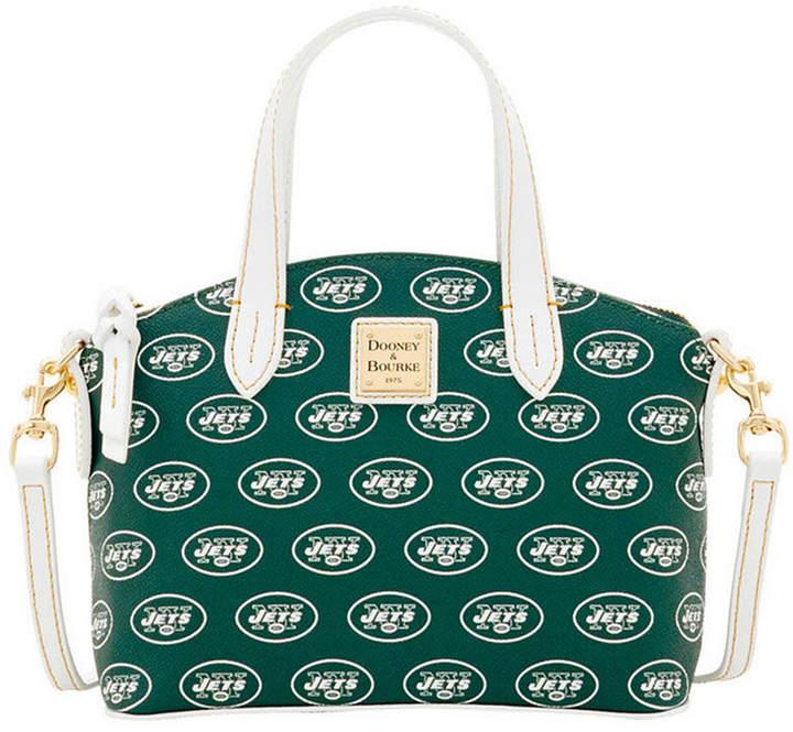 Dooney & Bourke New York Jets Ruby Mini Satchel Crossbody - GREEN - STYLE
