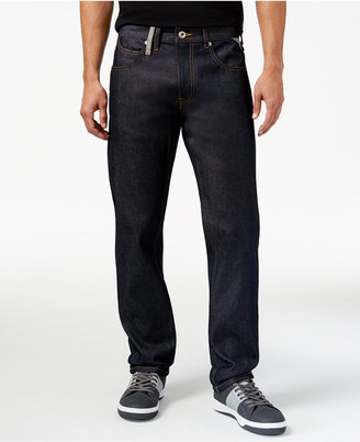 Sean John Men's Classic fit Reverse Denim Jeans, Only at Macy's $58 thestylecure.com
