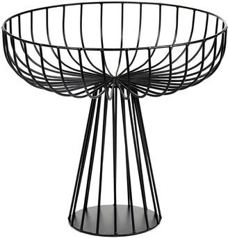 Serax - Catu Raise Wire Basket - Black - 28cm