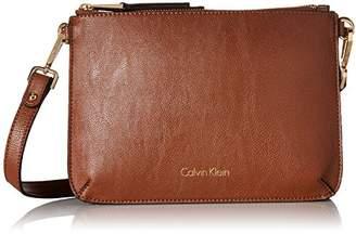 Calvin Klein Reversibles Top Zip Pebble Cross Body