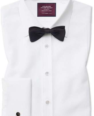 Charles Tyrwhitt Classic fit luxury marcella bib front white dinner shirt