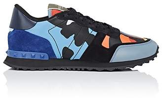 Valentino Men's Rockrunner Camouflage Sneakers
