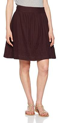 Fat Face Women's India Embroidered Skirt (Purple BlackBerry)