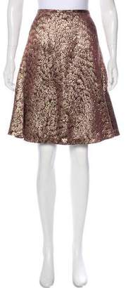 Peter Som Metallic Brocade Skirt w/ Tags