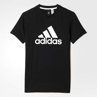 adidas Short-Sleeved T-Shirt, 4/5-15/16 Years