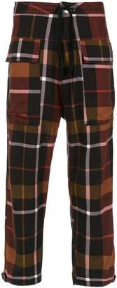 OSKLEN Flanell Chess trousers
