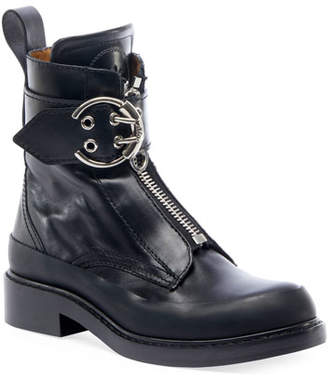 Chloé Roy Lug-Sole Combat Boots
