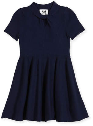 Milly Minis Twist Fit-and-Flare Dress, Size 8-14
