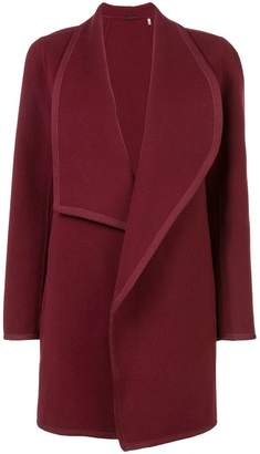 Elie Tahari exaggerated lapel coat