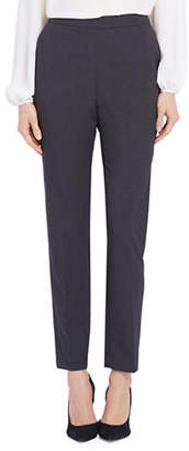 Ellen Tracy Petite Side-Zip Tapered Pants