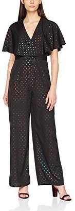 Miss Selfridge Women's Frill Jumpsuit,(Size:)