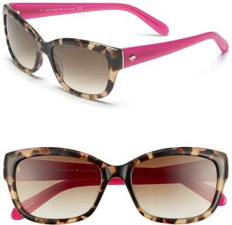 Kate Spade New York 'johanna' 53mm Retro Sunglasses