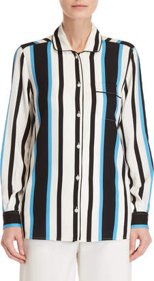 Dolce & Gabbana Striped Silk Shirt