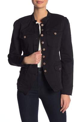 William Rast Bragg Fitted Officer Jacket