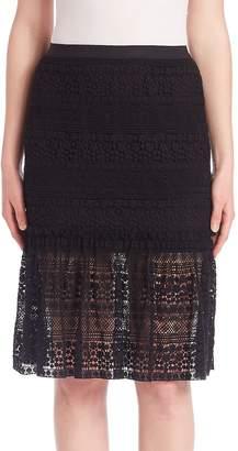 Elie Tahari Women's Skye Lace Skirt