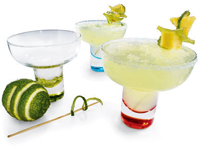 Stemless Margarita Glasses, Sets of 4