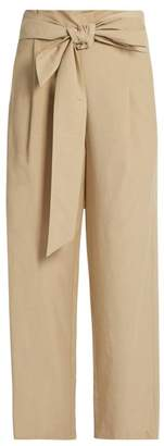 Masscob Wide-leg cropped trousers