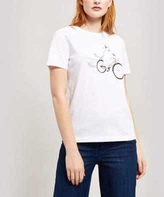 Paul Smith Cycling Dog Cotton T-Shirt